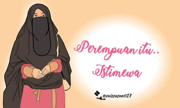 Mirzan Blog S 25 Inspirasi Keren Gambar Kartun Laki Laki Dan Perempuan Muslimah